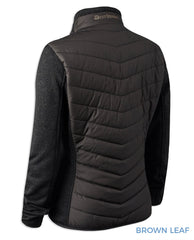 Back view Lady Caroline Quilted Jacket by Deerhunter