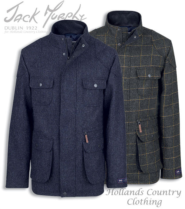 Jack Murphy Davin Tweed Jacket