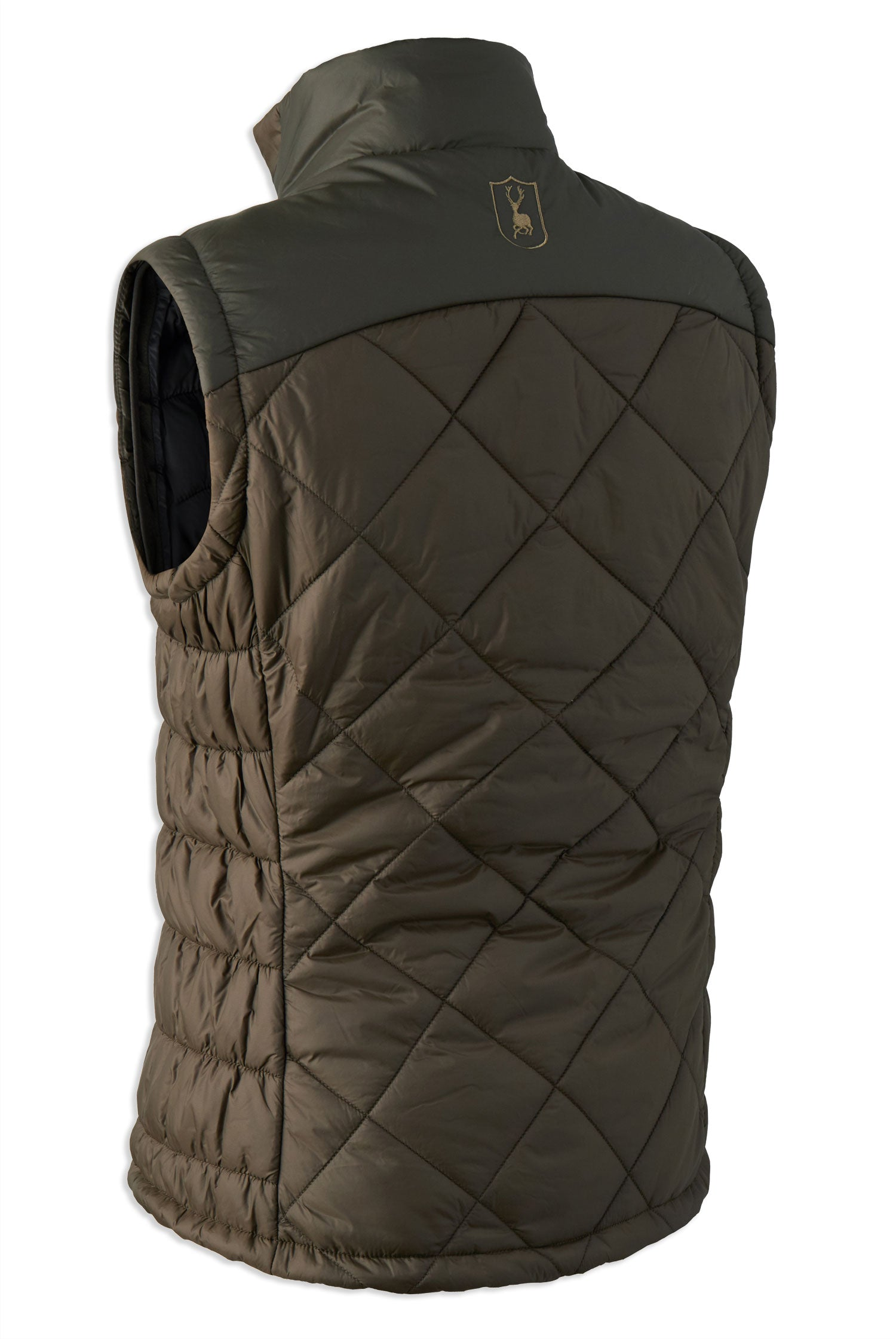 rear view Lady Christine Quilted Waistcoat by Deerhunter