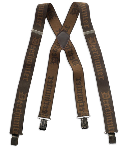 Deerhunter Logo Braces with Clips