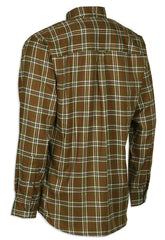 back view Deerhunter Cole Long Sleeve Check Shirt