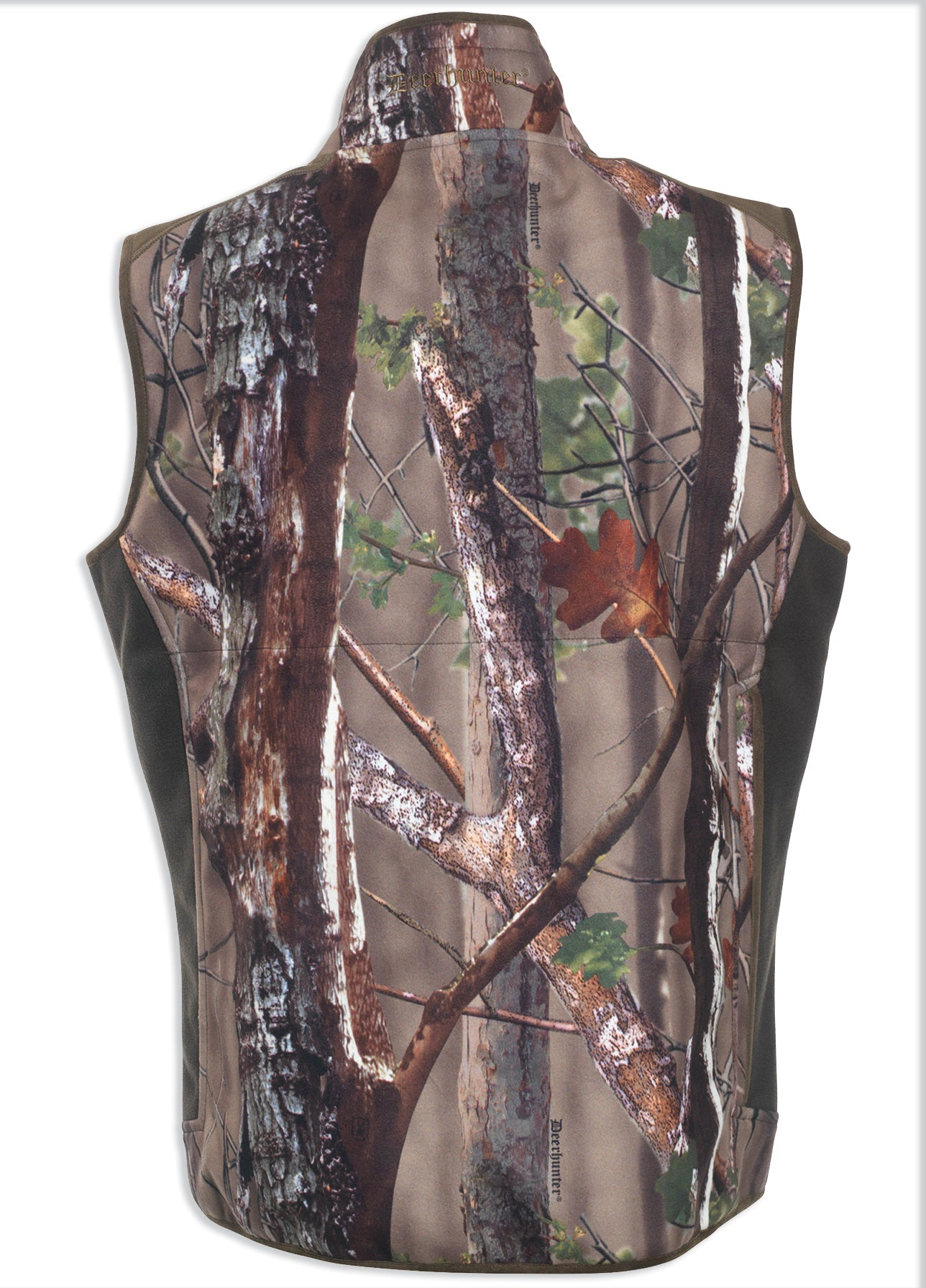 rear view Deerhunter Gamekeeper Fleece Gilet - Innovation Camo