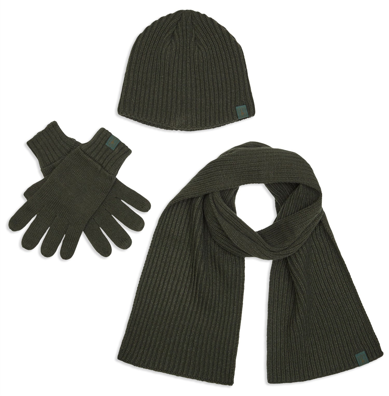Deerhunter 3 Piece Winter Set | Hat, Scarf & Gloves