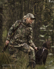 shooting with dog Lady Christine Waterproof Camouflage Jacket by Deerhunter