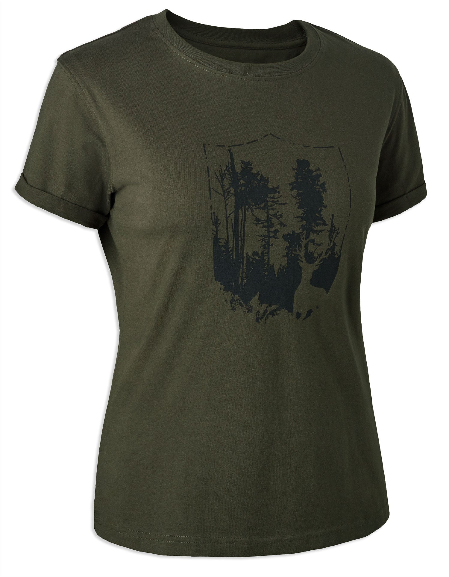 Deerhunter Lady T-Shirt with Shield