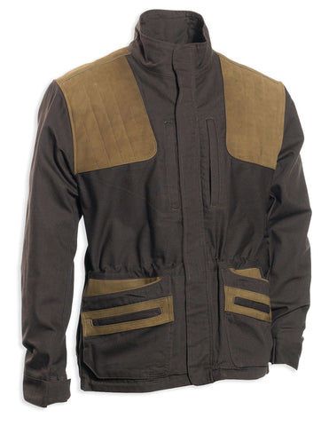 Deerhunter Monteria Hunting Jacket with leather shoulder patches