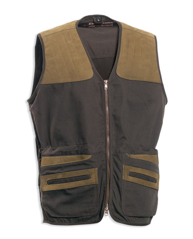 Deerhunter Monteria Hunting Waistcoat with leather shoulder areas