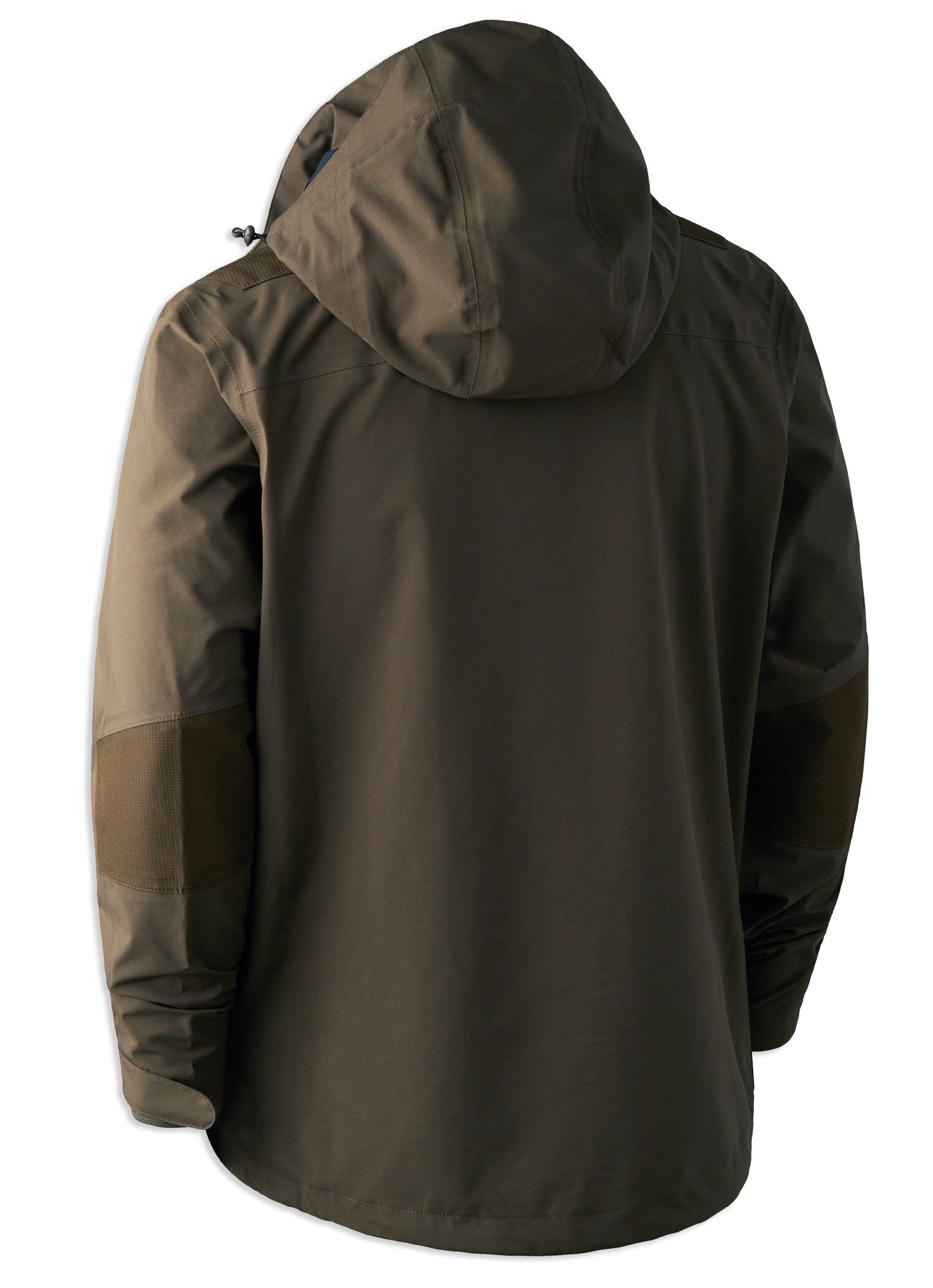 rear view Deerhunter Track Rain Jacket