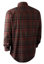 All Cotton Long Sleeve Shirt in an attractive dark country check pattern