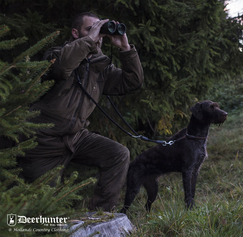 Hunting with dogs Deerhunter Rusky Silent Jacket
