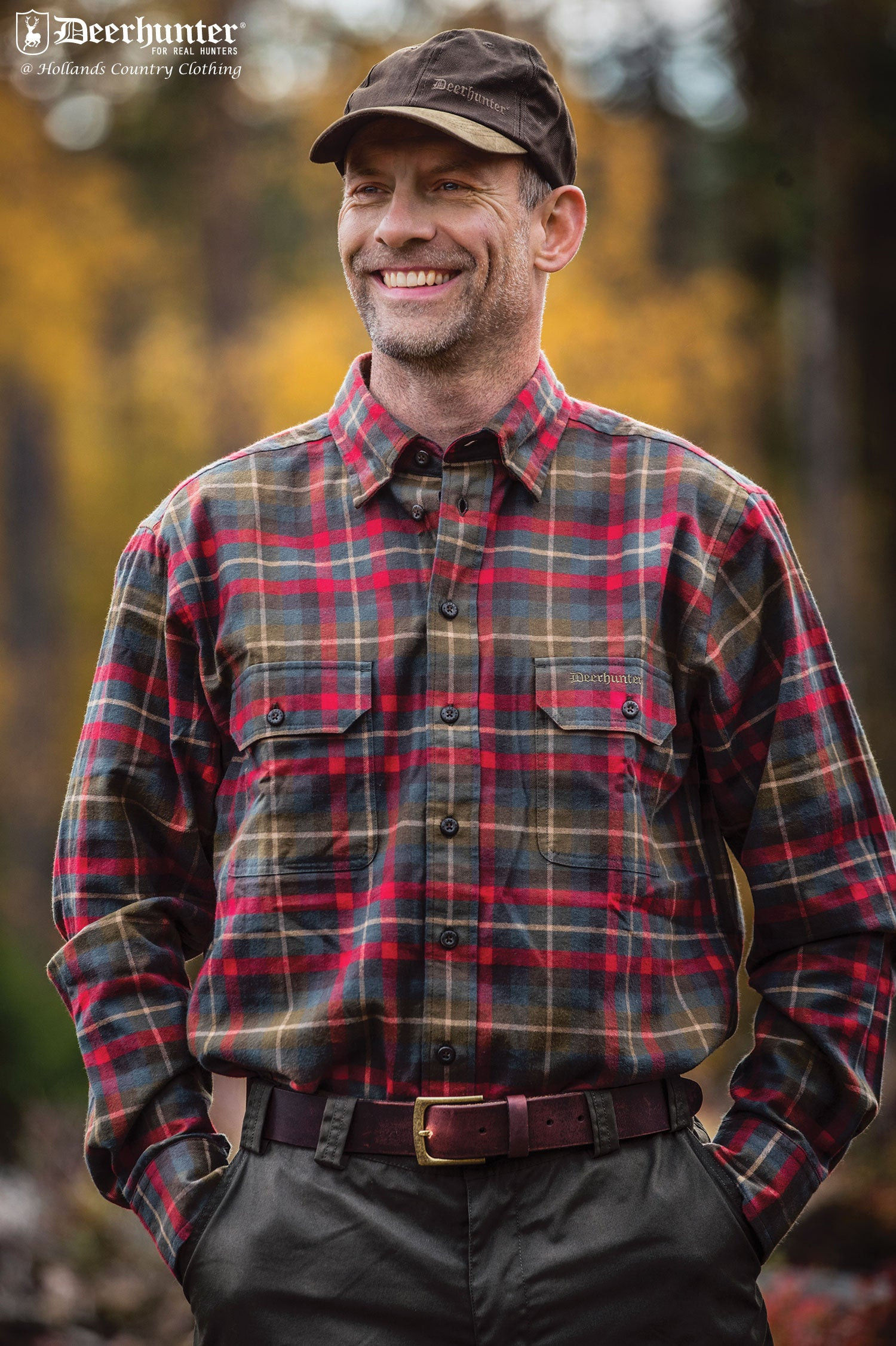 red tartan plaid lumberjack shirt