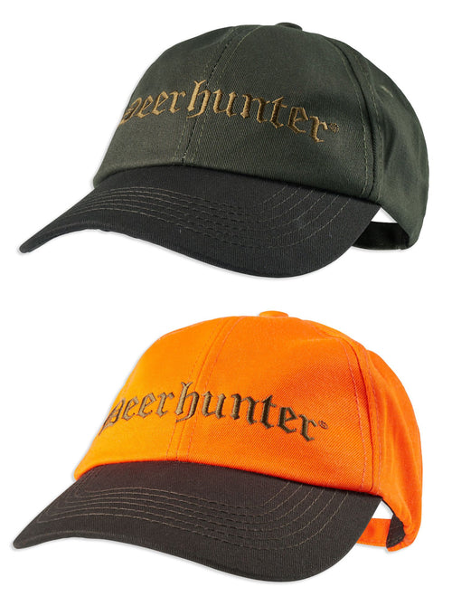 Deerhunter Bavaria Cap | Orange and Green