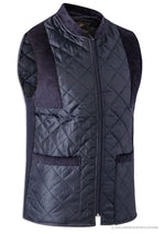 Navy Bronte Quilted Gilet / Waistcoat