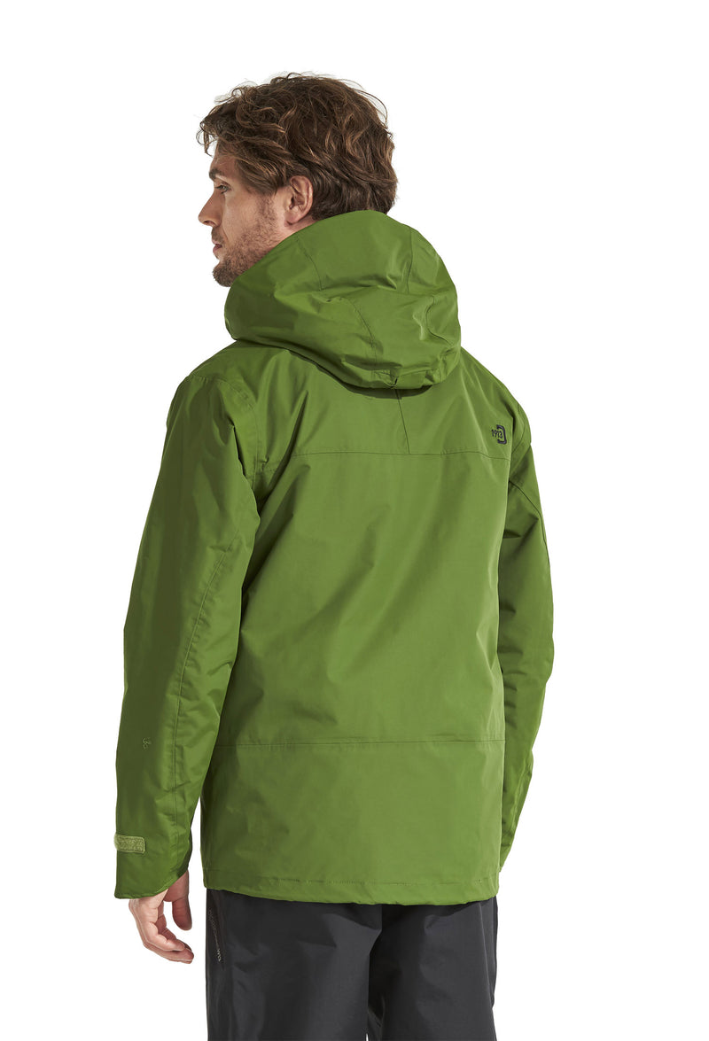 hood view Tropos Waterproof Shell Jacket by Didriksons