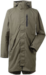 Men's Arnold Waterproof Parka Coat by Didriksons in Crocodile Green