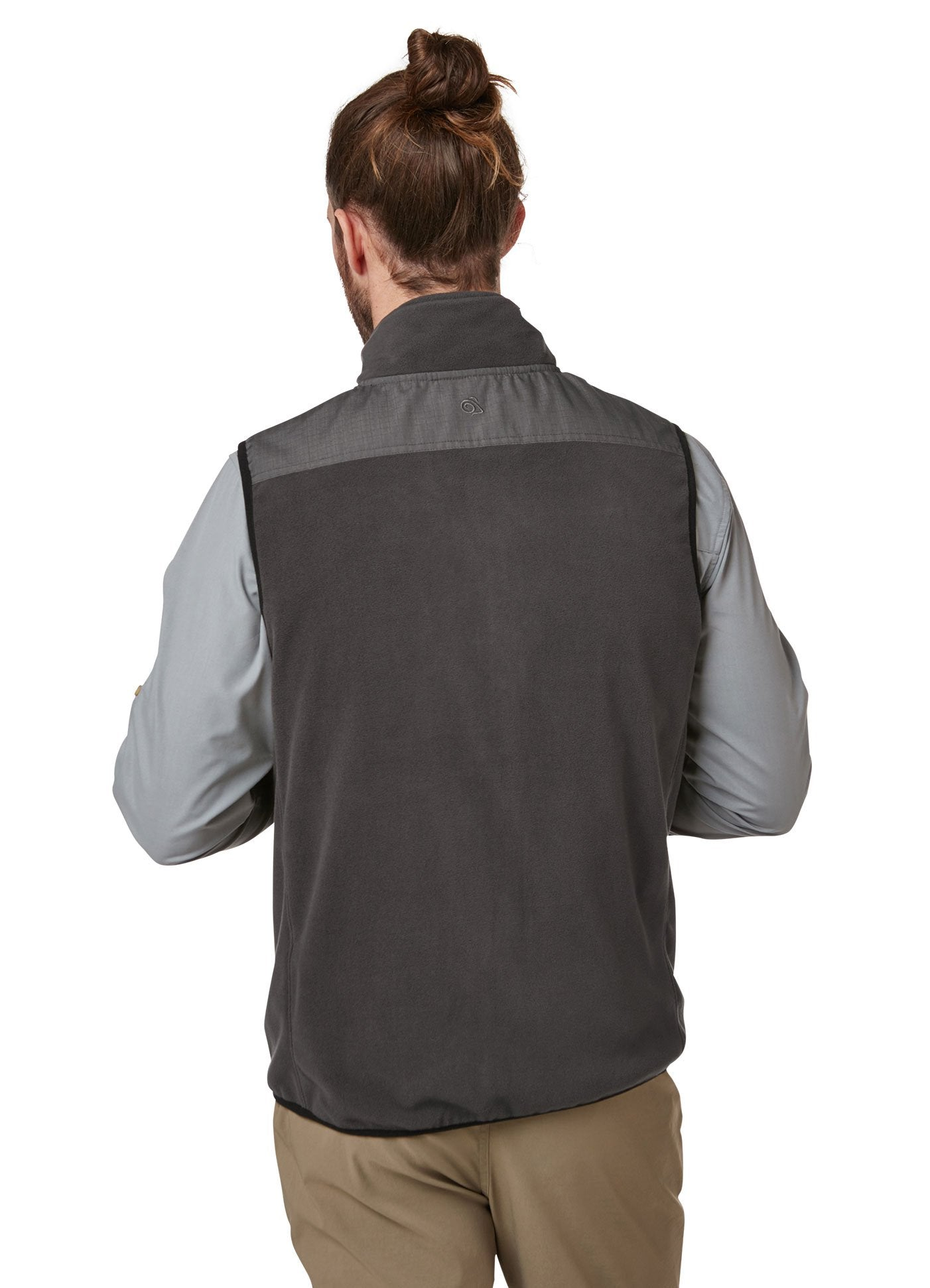 back view Craghoppers Dillon Micro Fleece Gilet