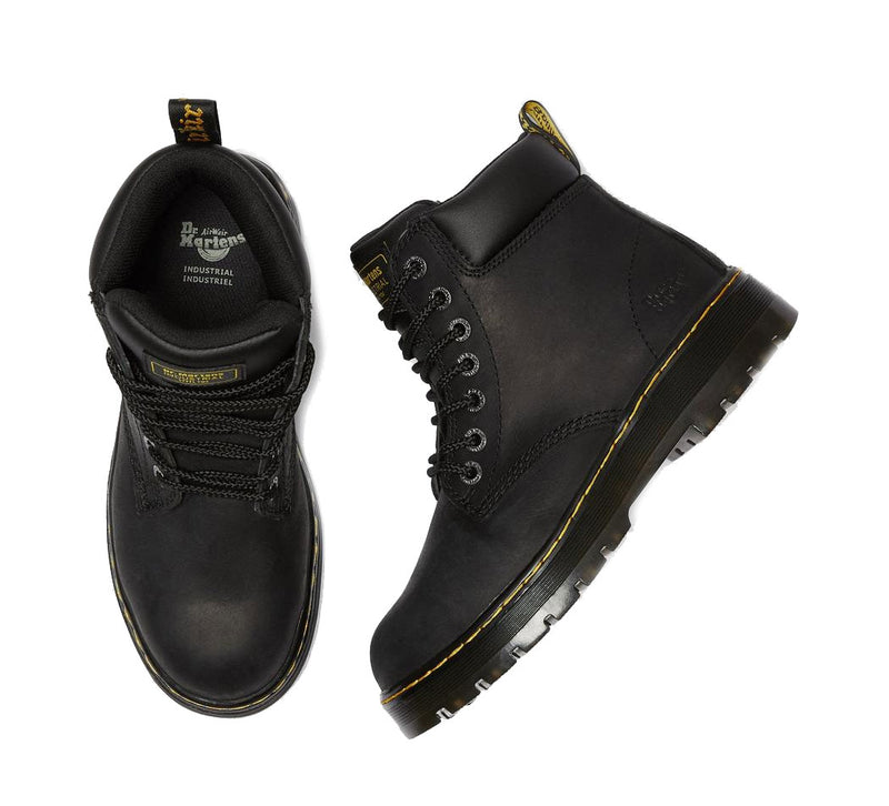 Dr Martens Winch Steel Toe Boots | Black