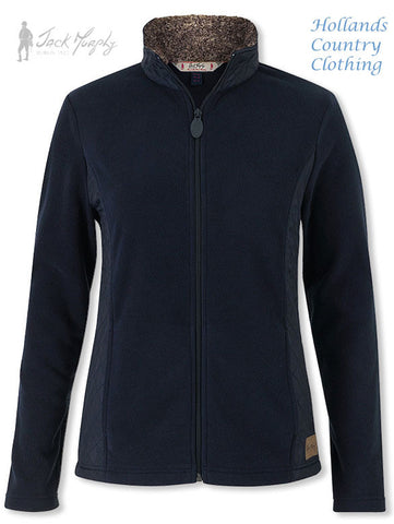 Jack Murphy Doris Quilt+Fleece jacket innavy