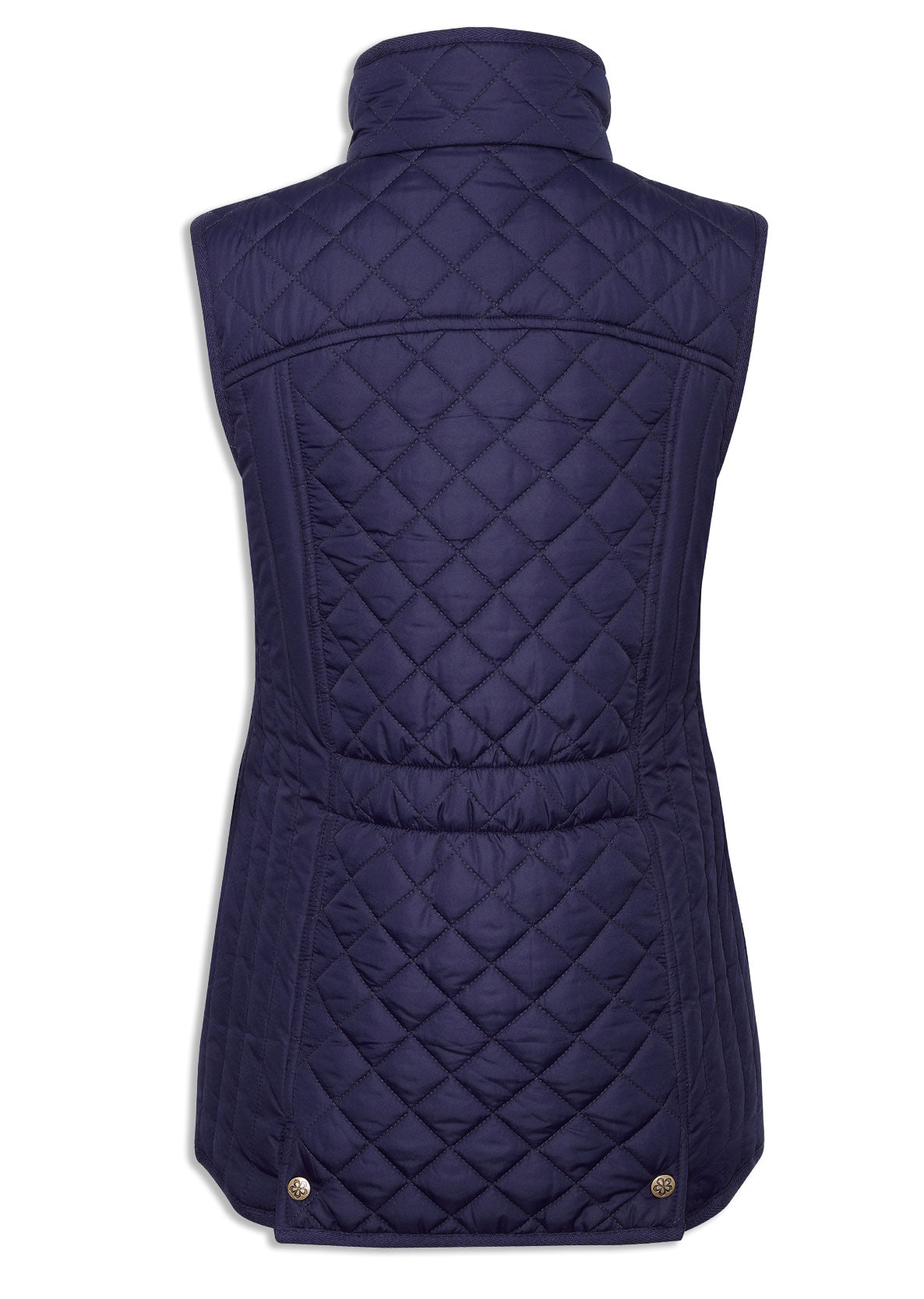 rear view Champion Dorney Ladies Quilted Gilet
