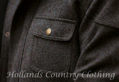 Drew knockmore tweed pocket detail
