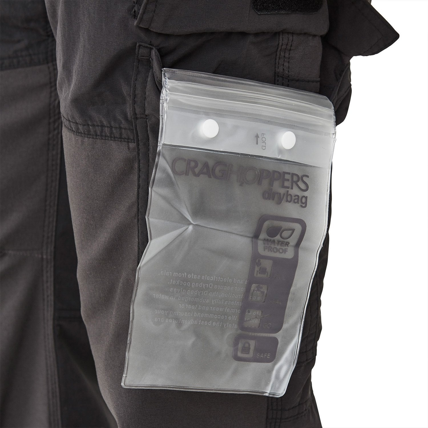 Dry bag pocket insert