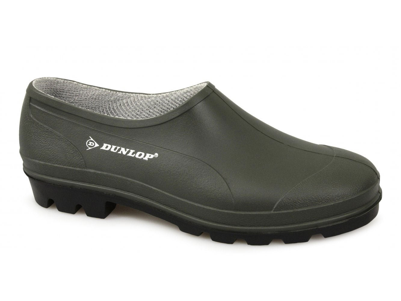 green Dunlop Garden Wet Grass Shoe short wellington