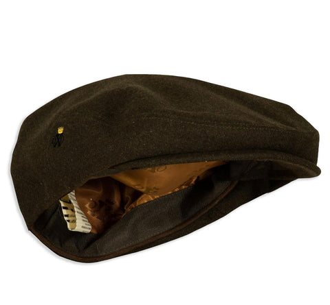 Deerhunter Woodland Loden Waterproof Flat Cap