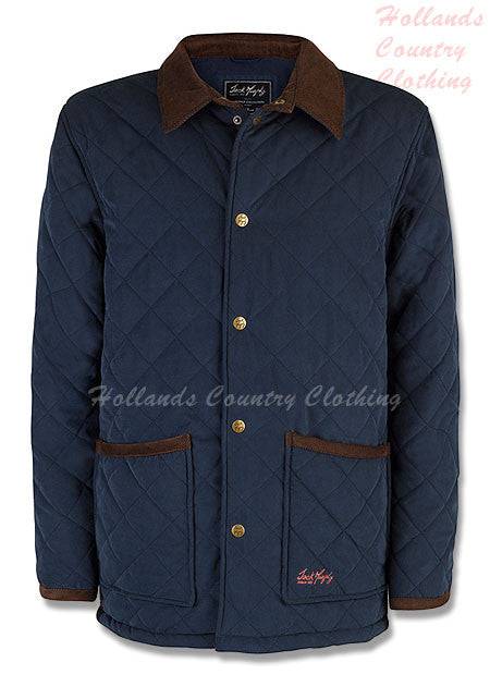 navy Jack Murphy Dylan Men's Quilted Jacket