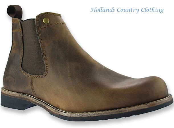 fa8b0d628668 Woodland Leather Chelsea Boot – Hollands Country Clothing