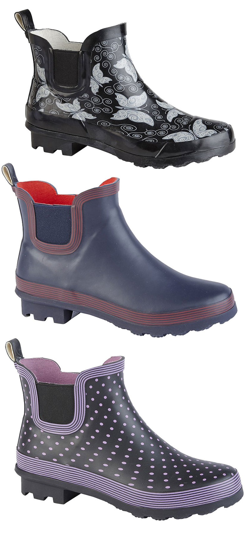 Stormwells Elastic Gusset Short Welly Boot