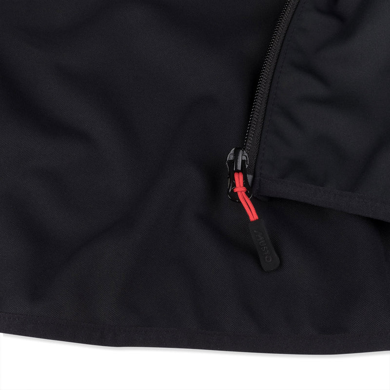 Musto zip with red puller
