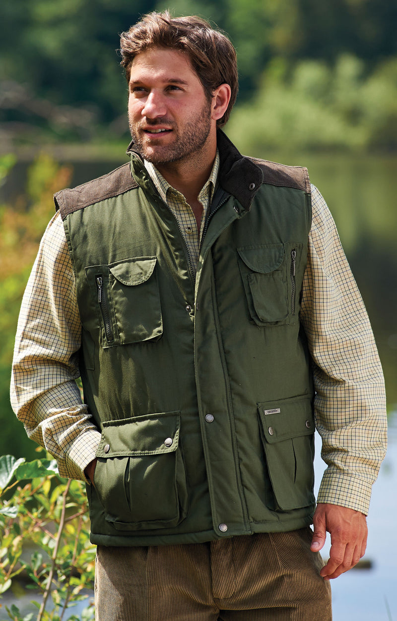 Champion Exmoor Multi Pocket Padded Body Warmer