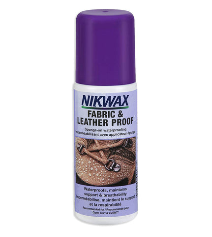 Nikwax Fabric & Leather Proof™ 125 ml SPONGE-ON violet cap
