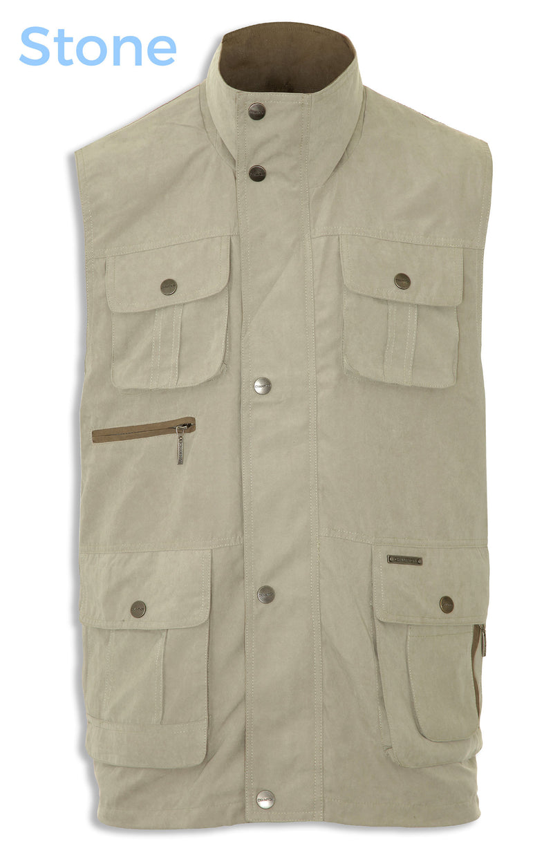 stone for lightweight summer wear waistcoat