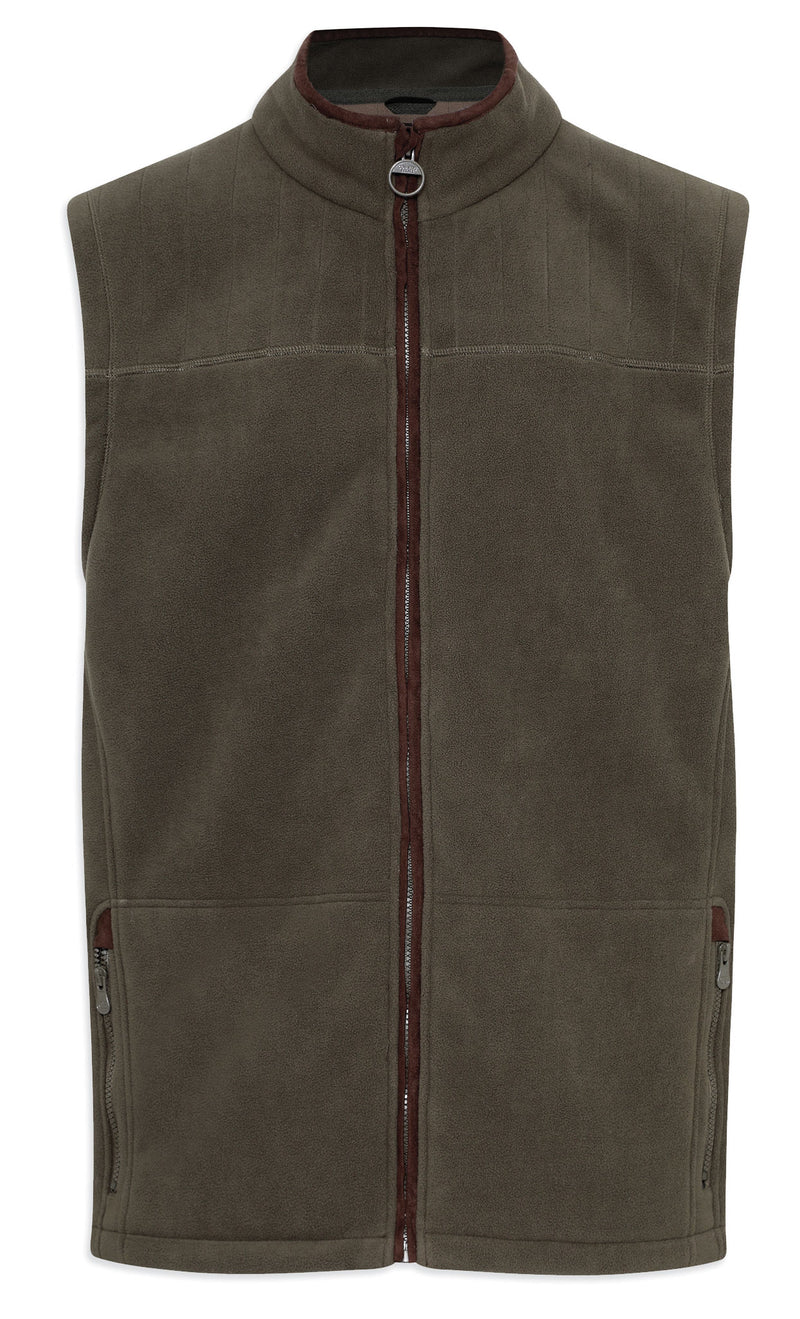 Champion Portree Micro Fleece Bodywarmer in olive