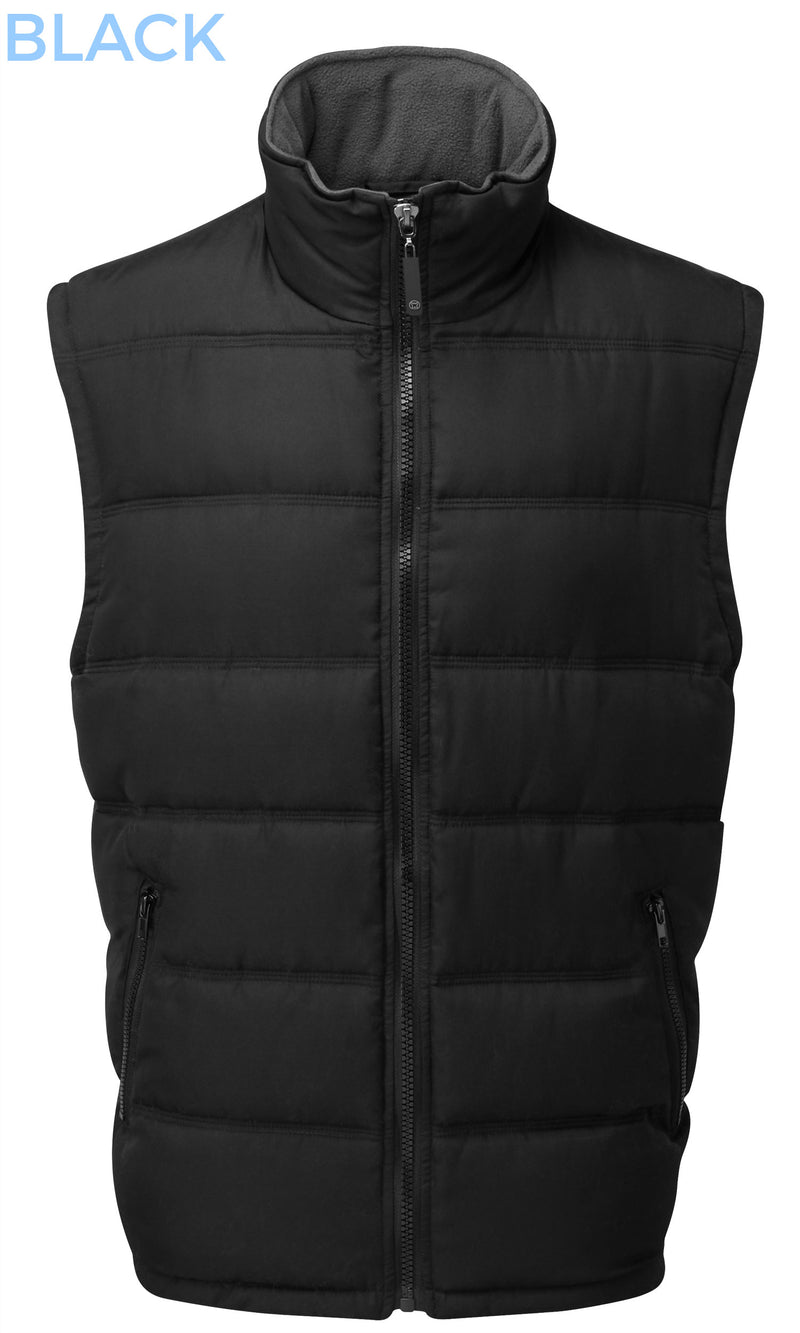 Fortress Downham Quilted Bodywarmer Black