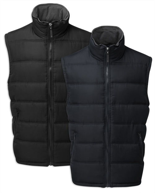 Castle Downham II Bodywarmer in Black and Navy
