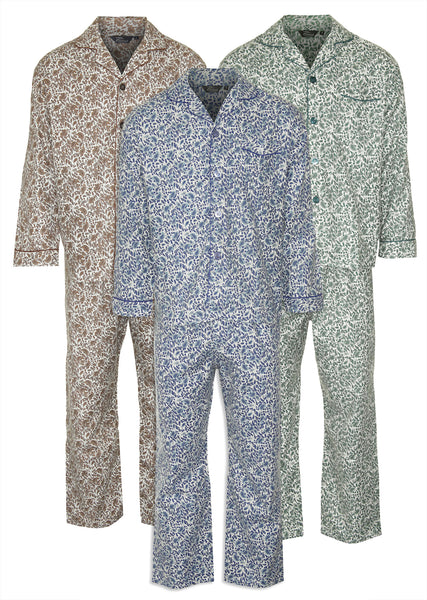 Champion Paisley Pyjamas 100 Cotton Hollands Country