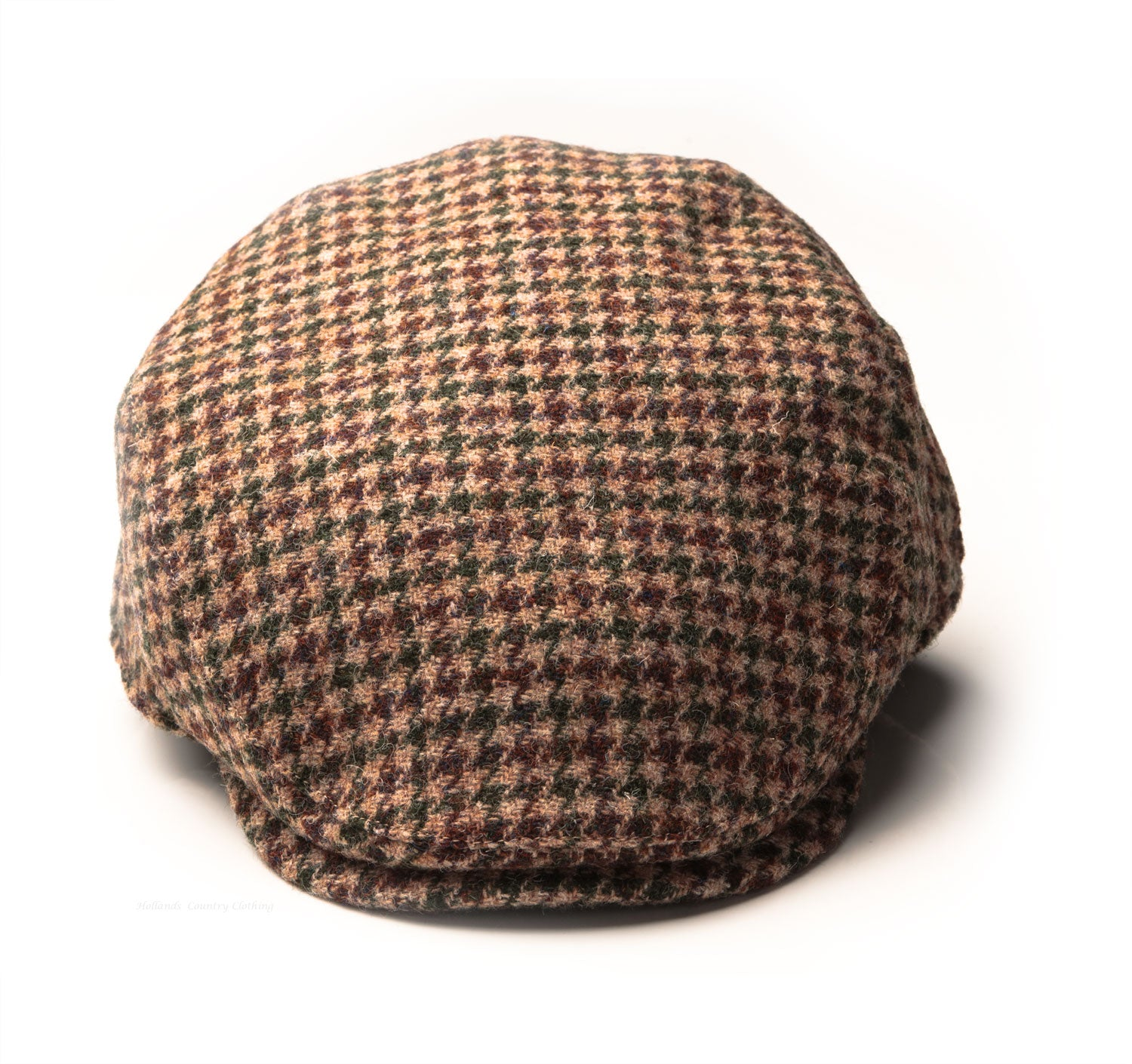 bcf9a6592a1 Heather Highland Harris Tweed Flat Cap