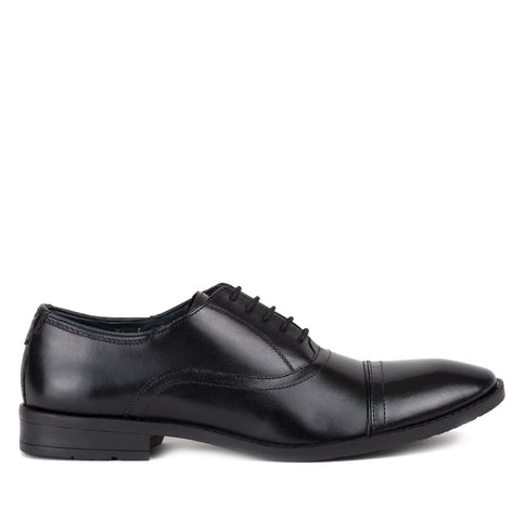 Westminster Black Leather Oxford Shoe by Goodwin Smith