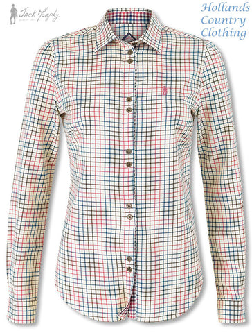 Jack Murphy Ladies Gracie Shirt Dragonfly Check