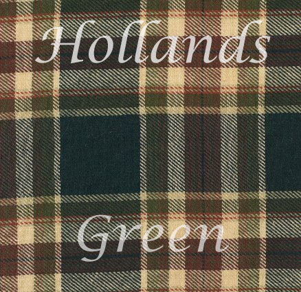 green tartan colour indicator for shirt