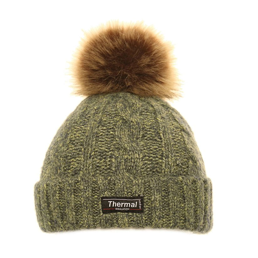 8161febf Thinsulate Cable Knit Bobble Hat – Hollands Country Clothing