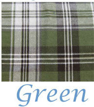 Green tartan plaid for skye shirt