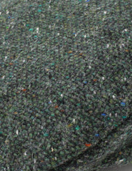 Green Salt and Pepper swatch for tweed