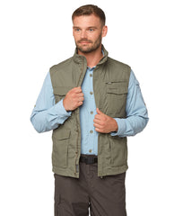 Multiple pocket gilet by Craghoppers in green