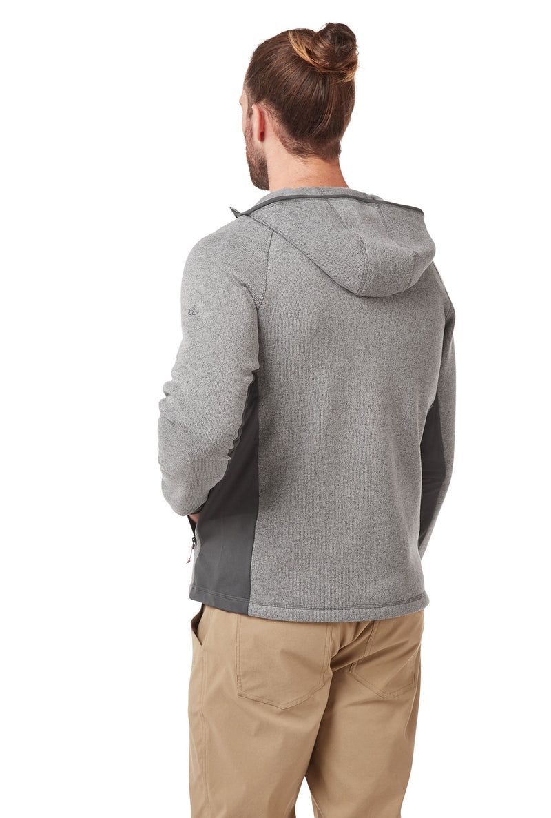Back view  Apollo Man's Fleece Top by Craghoppers