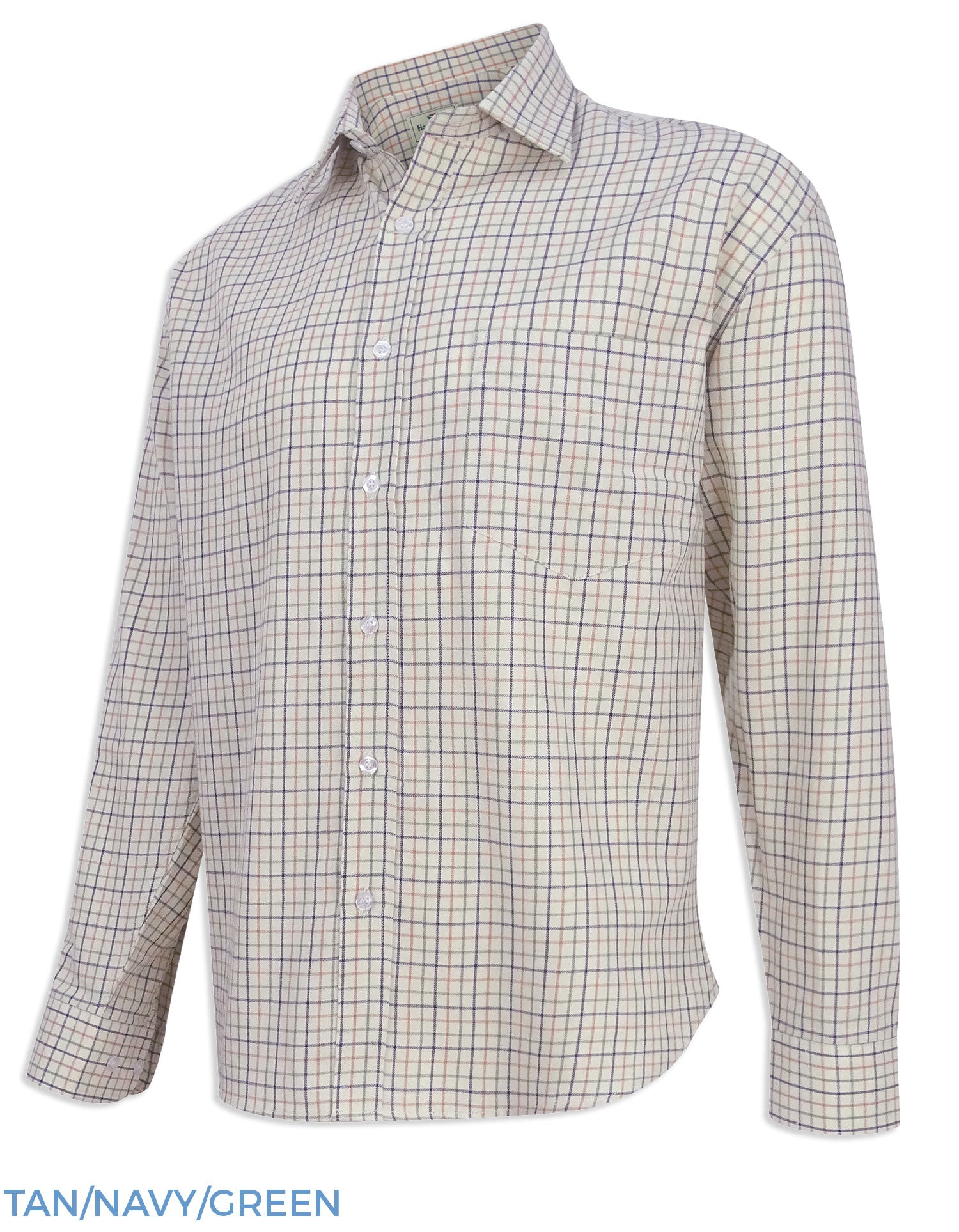 Hoggs of Fife Pure Cotton Tattersall Check Shirts