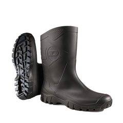 black short wellingtons