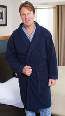 champion dressing gown microfleece